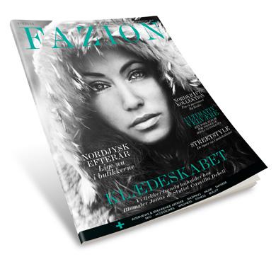 Modeshow får de første FAZION-magasiner