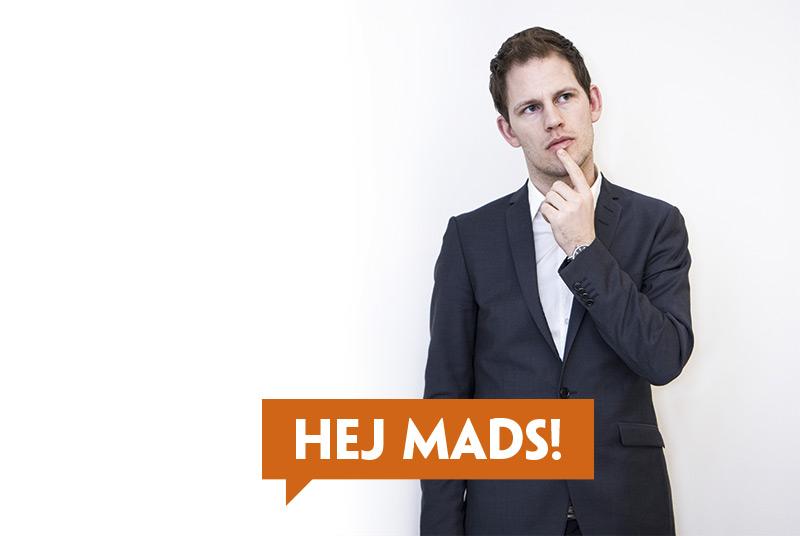 Hej Mads Duedahl! Svar på tiltale