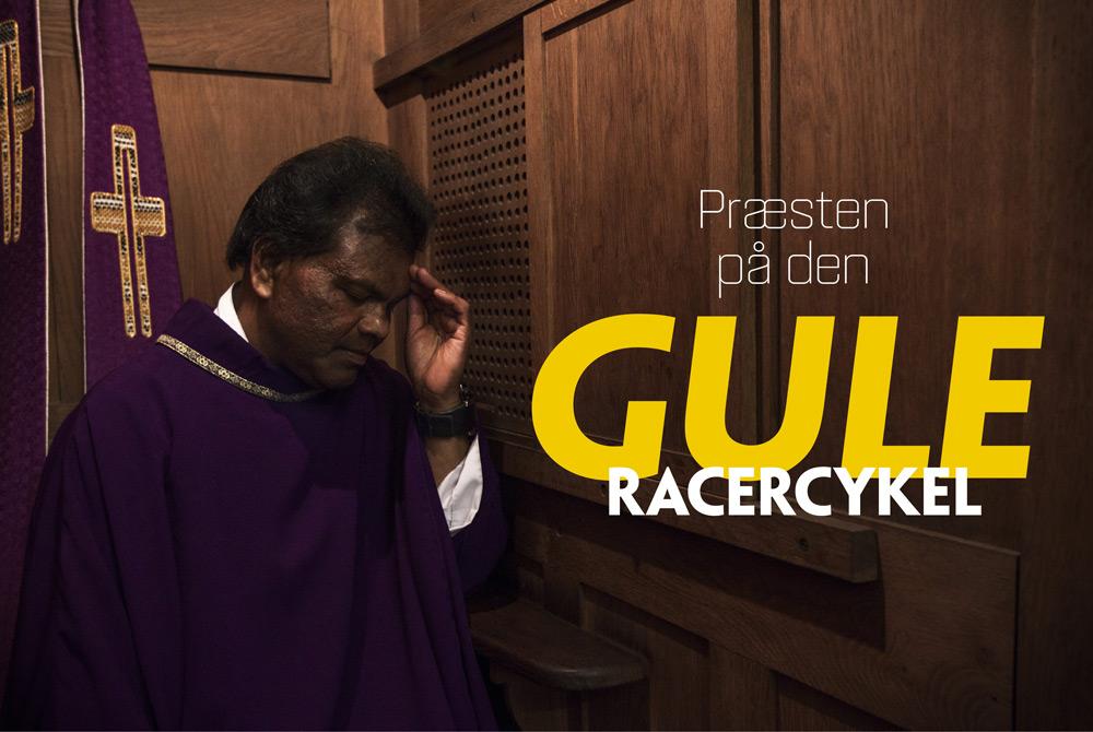 Præsten på den gule racercykel