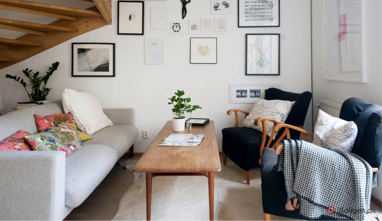 Sådan gør du stuen mere komfortabel