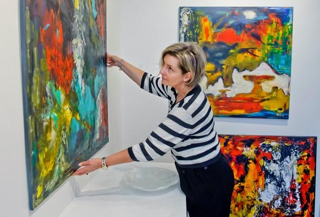 Kom til kunst mod kræft i Galleri Portland Art, Algade 35B, Aalborg
